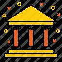 bank, banking, building, cash, finance, money icon