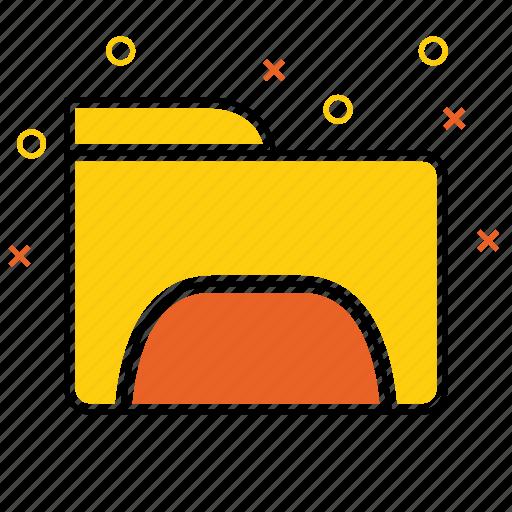 album, binder, circle, files, folder, portfolio, record icon