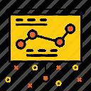 analysis, chart, graph, optimization, performance, seo, statics icon