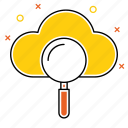 cloud, search, see, seo, view, wheather icon