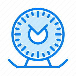 alarm, clock, timepiece, timer, watch icon