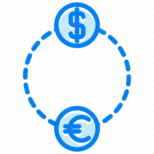 Exchange, currency, dollar, financial, money icon - Download on Iconfinder