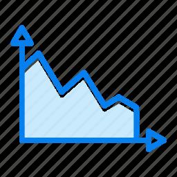analytics, graph, growth, report icon