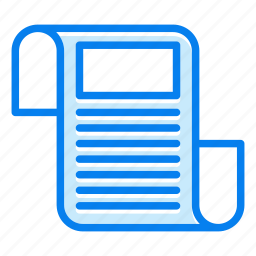 blog, feed, marketing, news icon