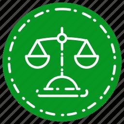 balance, business, finance, judge, marketing icon