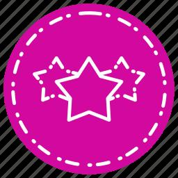 business, finance, marketing, rating, stars icon