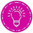 bulb, business, finance, lamp, marketing icon
