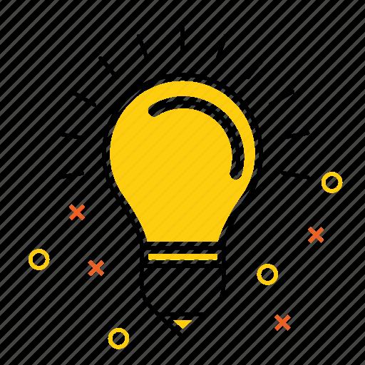 decoration, energy, idea, lamp, light, seo icon