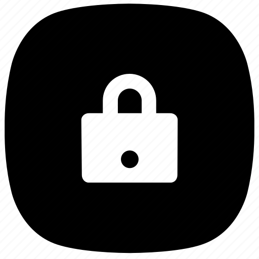 lock, locked, padlock, private, protected icon