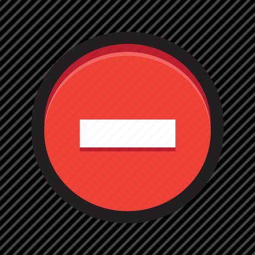 block, cancel, delete, no access, private, stop icon