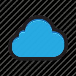 backup, cloud, copy, save, upload icon