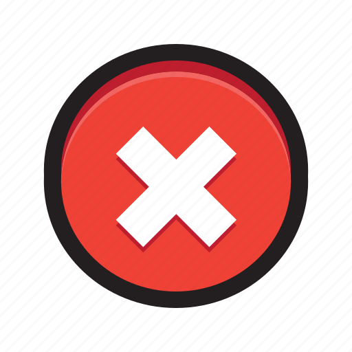 ban, block, cancel, delete, error, stop icon