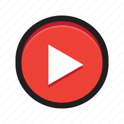 movies, netflix, play, stream, video, youtube icon