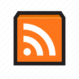 feed, news, newsfeed, rss, subscribe icon
