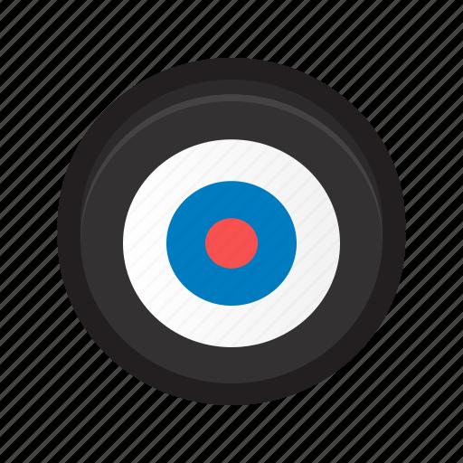 bull's eye, bullseye, end, goal, target icon