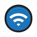 internet, signal, wi-fi, wifi, wireless icon