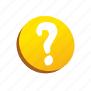 buttons, mark, question icon