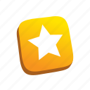 buttons, rate, star icon