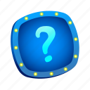 lights, mark, misc, question, quiz icon