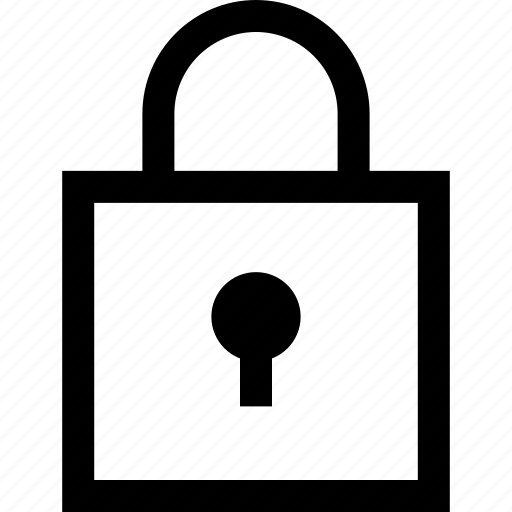 lock, online, shop, shopping icon