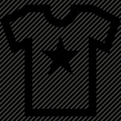 clothing, online, shirt, shopping, star, teen, tshirt icon