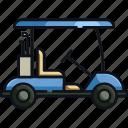 golf transport, golf, golf car, car, dune buggy, golf buggy, transportation icon