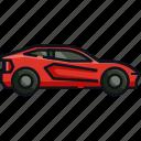 auto, automobile, car, luxury car, sports car, transportation, vehicle icon