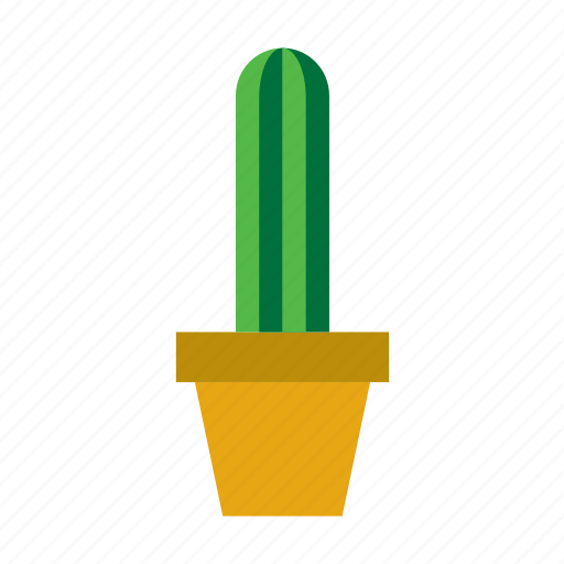 botanical, cacti, cactus, plant, pot, potted, succulent icon