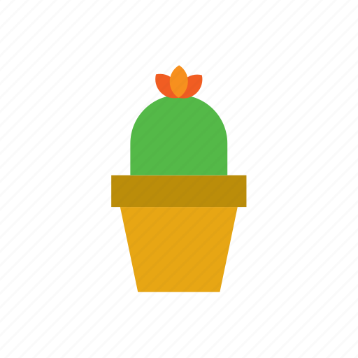 botanical, cacti, cactus, plant, pot, potted, succulent icon