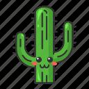 cactus, character, cute, emoji, kawaii, saguaro, succulent icon