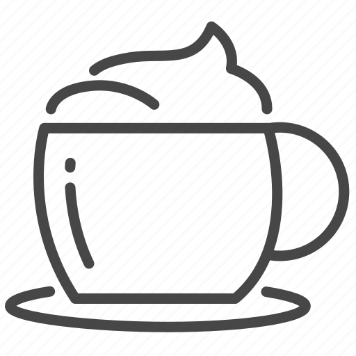 Cafe, coffee, shop, art, cappuccino, latte icon - Download on Iconfinder