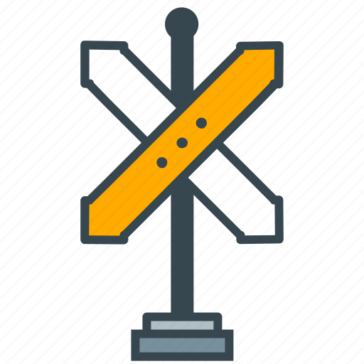 cafe, crossroad, directions, location, restaurant icon