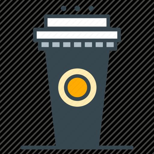 cafe, coffee, holder, jumbo, restaurant icon