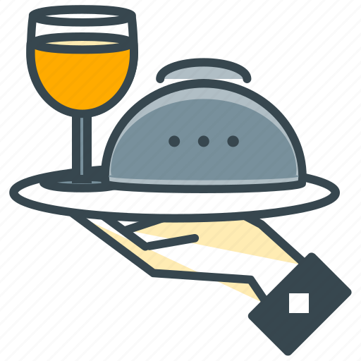 cafe, dinner, drink, meal, restaurant, wine icon