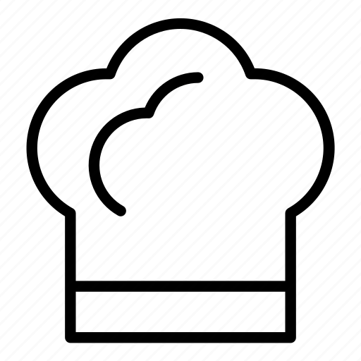 baker, bakery, café, chef, cook, cooking, hat icon