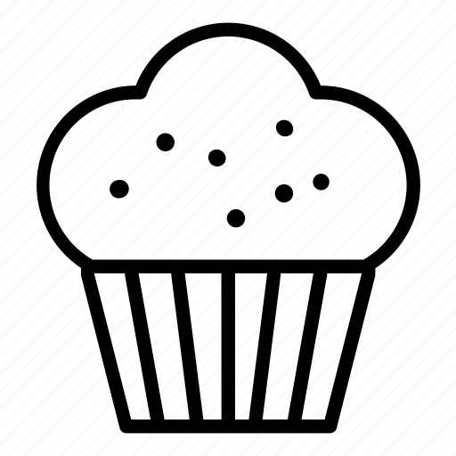 Bakery, café, cake, cupcake, dessert, muffin, sweet icon - Download on Iconfinder
