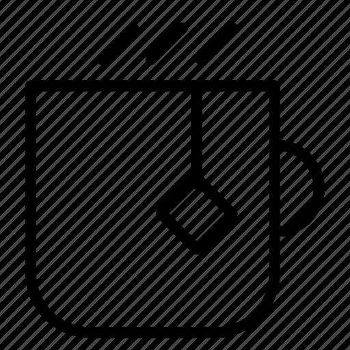 Café, coffee, cup, drink, hot, mug, tea icon - Download on Iconfinder