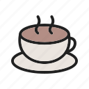 cafe, coffee, drink, espresso, hot, mug icon