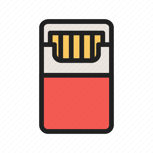 bar, cafe, cigarettes, danger, nicotine, packet, tobacco icon