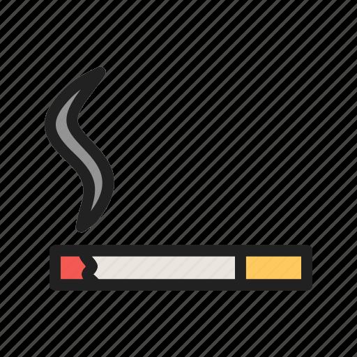 burn, cigarette, danger, health, lit, nicotine, tobacco icon