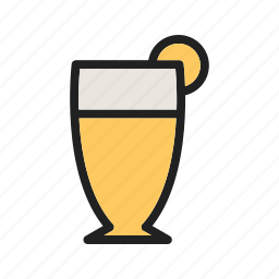 bar, beer, brown, craft, glass, liquid, pub icon