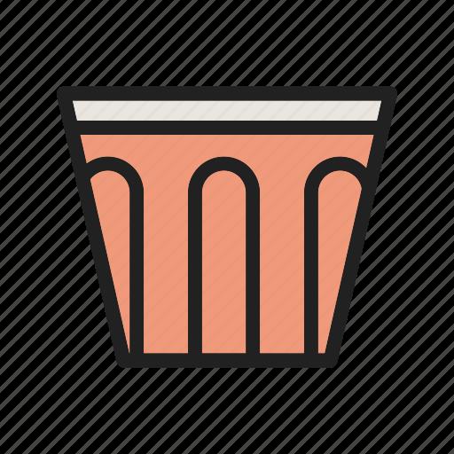 brown, coffee, double, drink, espresso, machine, shot icon