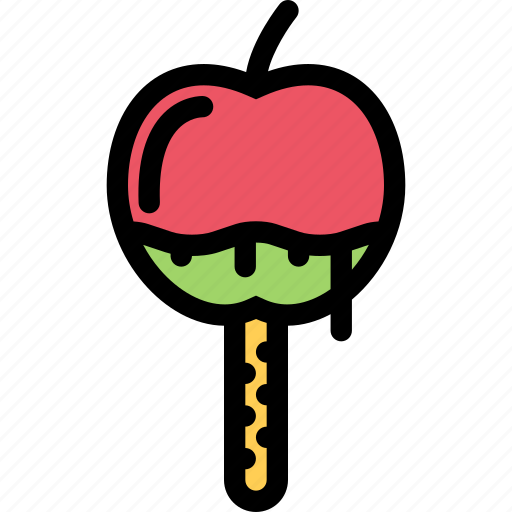 apple, cafe, candy, coffee shop, dessert, pastry, pastry shop icon