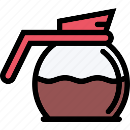 cafe, coffee, coffee shop, dessert, pastry, pastry shop, pot icon