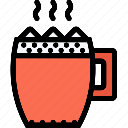 cafe, cocoa, coffee shop, cup, dessert, pastry, pastry shop icon