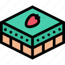 cafe, coffee shop, dessert, pastry, pastry shop icon