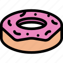 cafe, coffee shop, dessert, donut, pastry, pastry shop icon