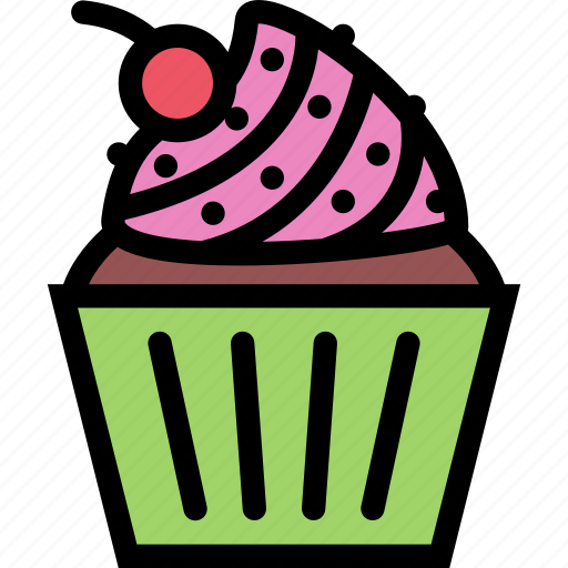 cafe, coffee shop, dessert, muffins, pastry, pastry shop icon