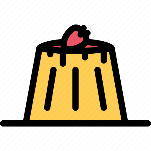 cafe, coffee shop, dessert, pastry, pastry shop, pudding icon