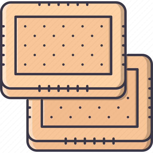 cafe, cookie, cracker, food, snack icon